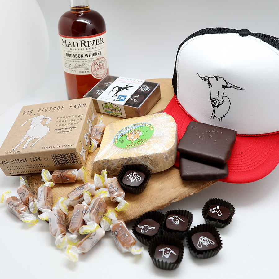 Cheese & Bourbon Caramel Collection