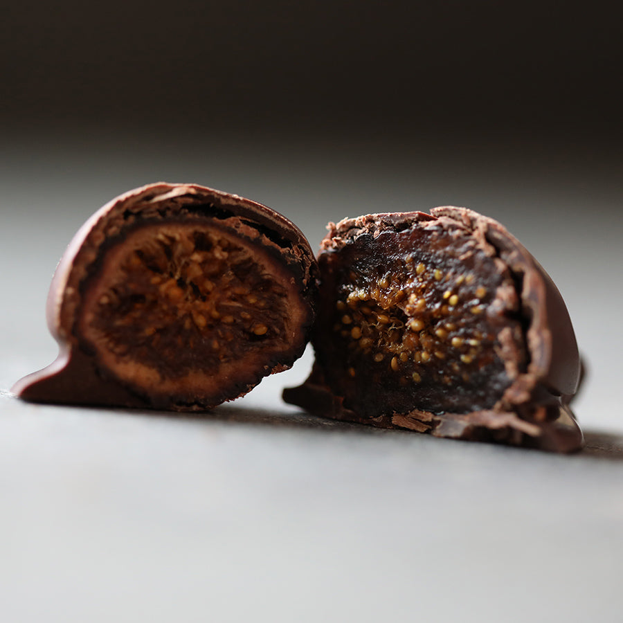 Chocolate Covered Black Mission Figs