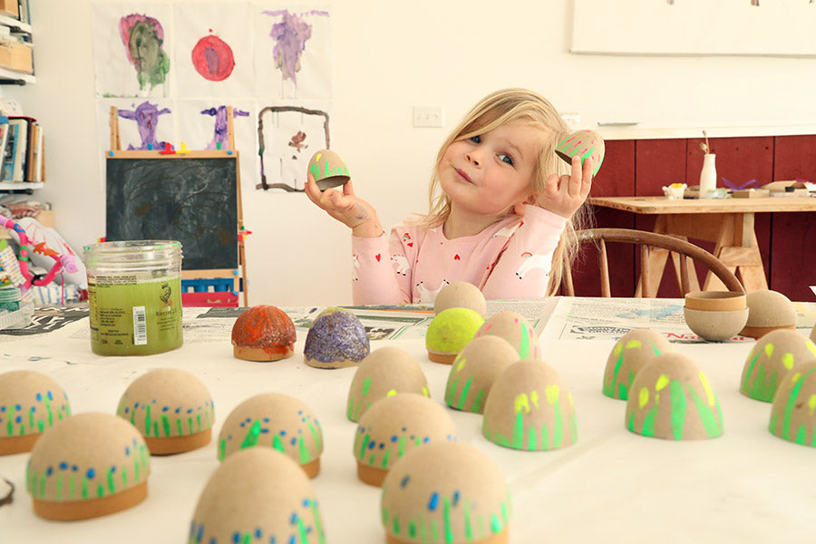 Paint your own Easter Eggs + Caramels!