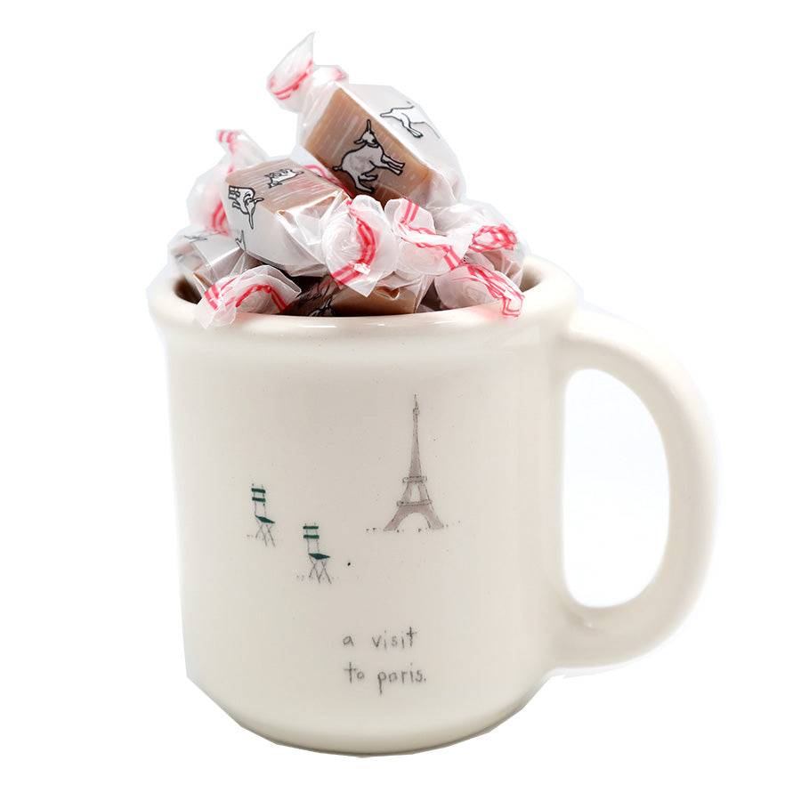 A visit to Paris - Mug + Caramels