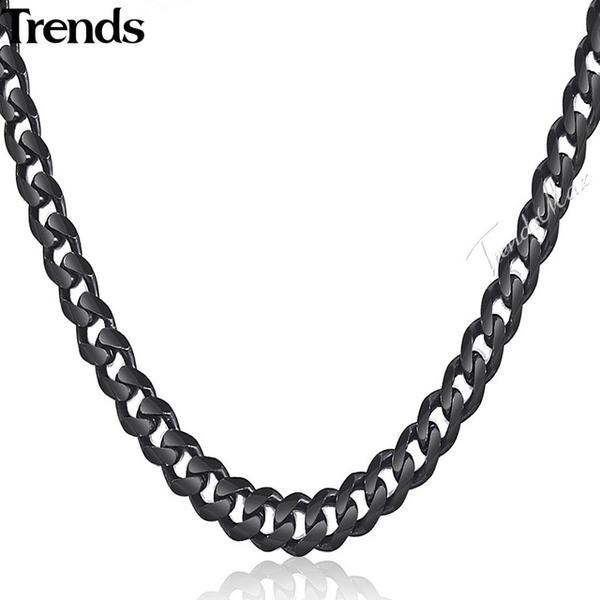 55-60cm Trendy Cuban Link Necklace
