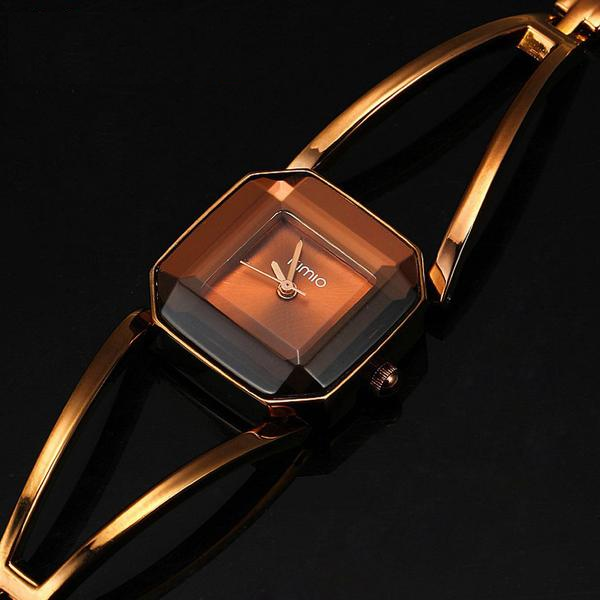 Hard Crystal Dial Watch
