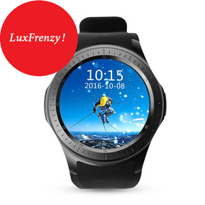 SmartWatch: Android DM368 3G 8GB MTK6580 Quad Core IPS WCDMA GPS Bluetooth WIFI WCDMA APP PK DM98 KW88 & More
