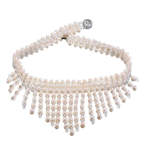 Luxury Necklace w/ Freshwater Pearls 4-5MM