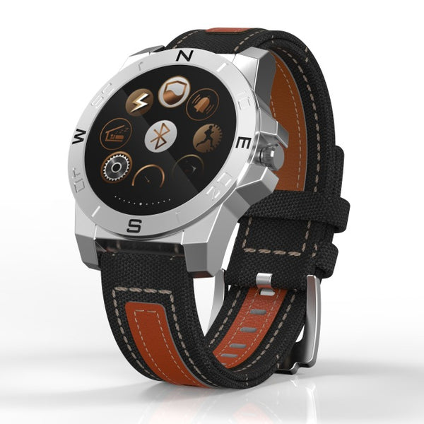 SmartWatch: Android/iPhone N10 MTK2501 Outdoor Sports Watch w/ Heart Rate Monitor & Camera + More