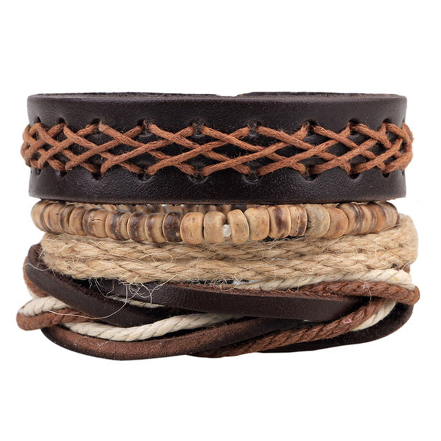 Trendy Hand-Woven Adjustable Bracelet