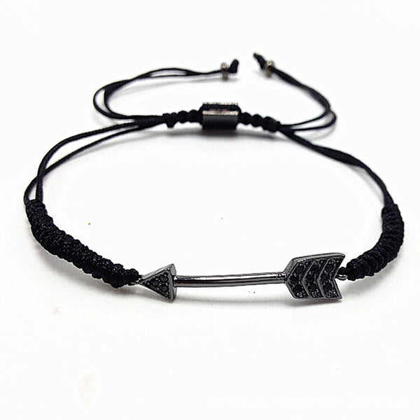 Unisex Arrow Themed Bracelet