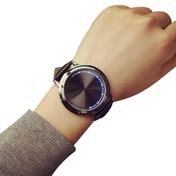 Touchscreen LED Watch