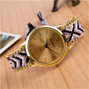Braided Bracelet Watch