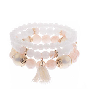Elegant Three Piece Bohemian Bracelet