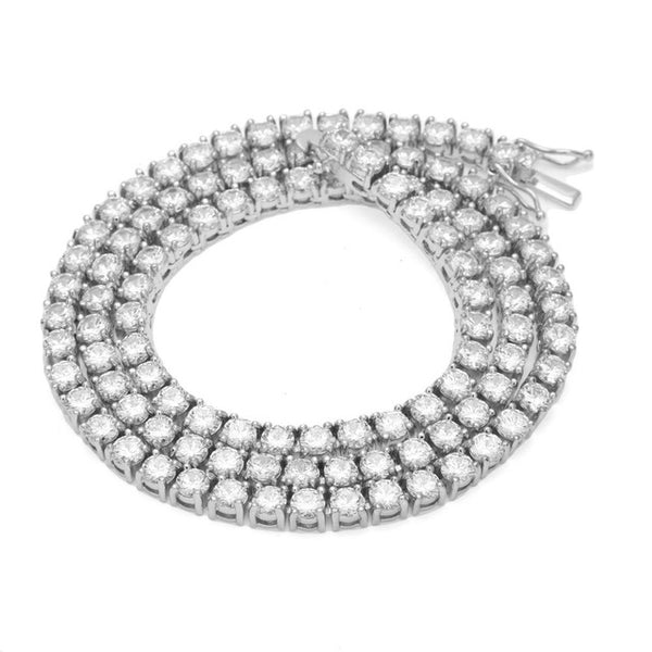 "18/20/24"" Urban Imitation Diamond Necklace"