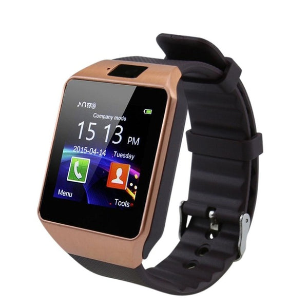 SmartWatch: Android/iPhone DZ09 Bluetooth PK Y1 Q18 w/ Camera