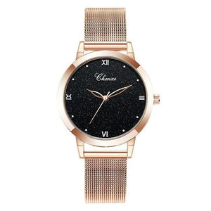 Rose-Gold Hardlex Wristwatch
