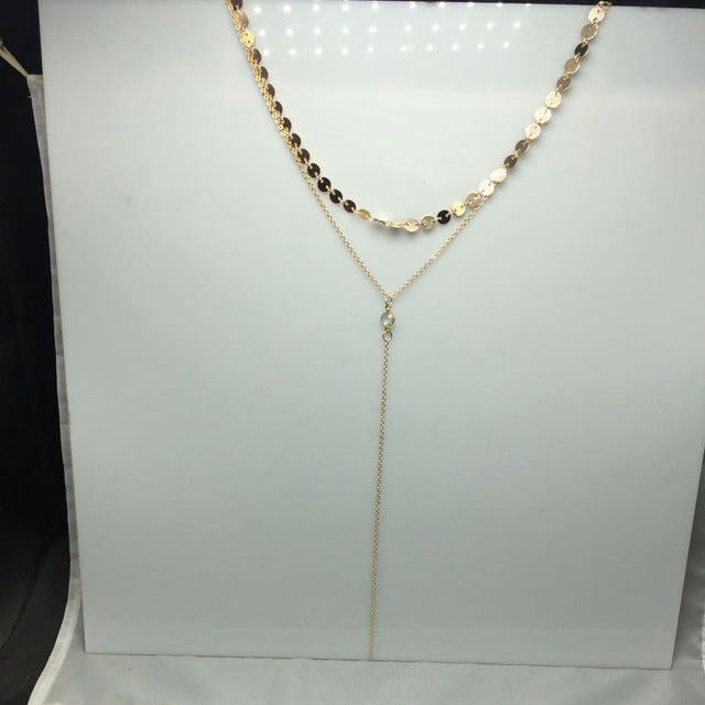 Choker Necklace w/ Crystal Collar