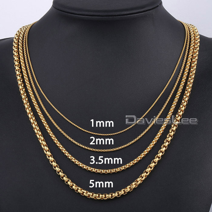 1-5mm Trendy Necklace