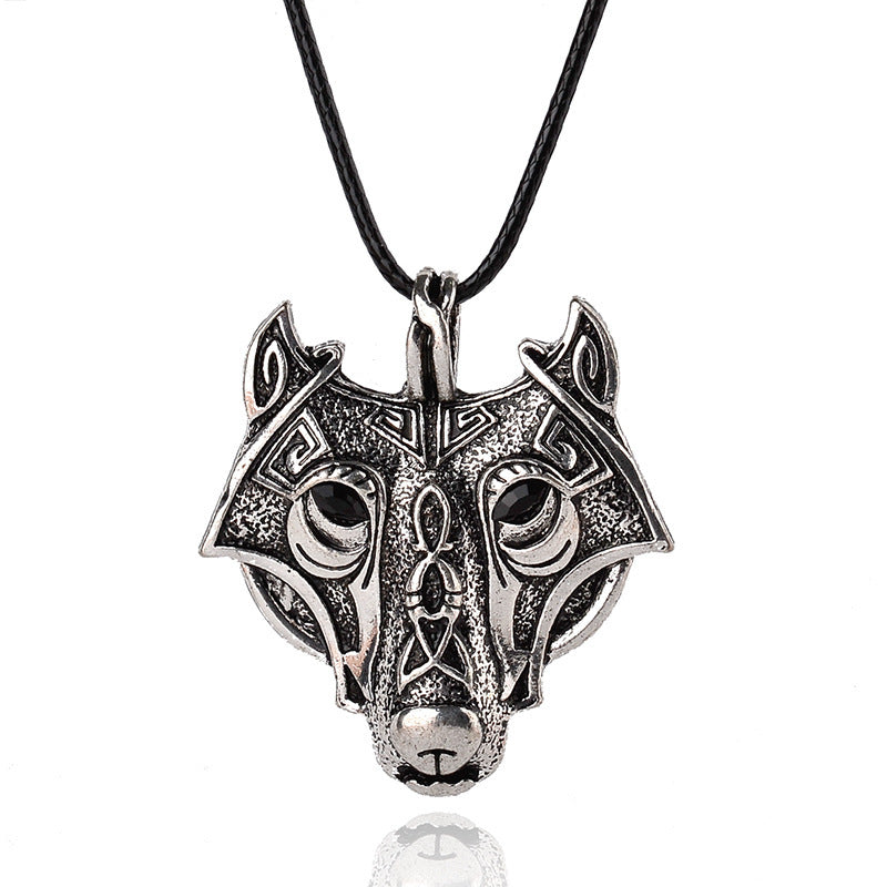 Alpha Wolf Pendant Necklace