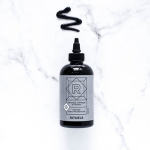 Rituels Charcoal Pre-shave and Shave Gel for Sensitive Skin - Fragrance Free