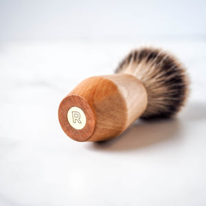 Rituels Wood and Brass Shaving Brush