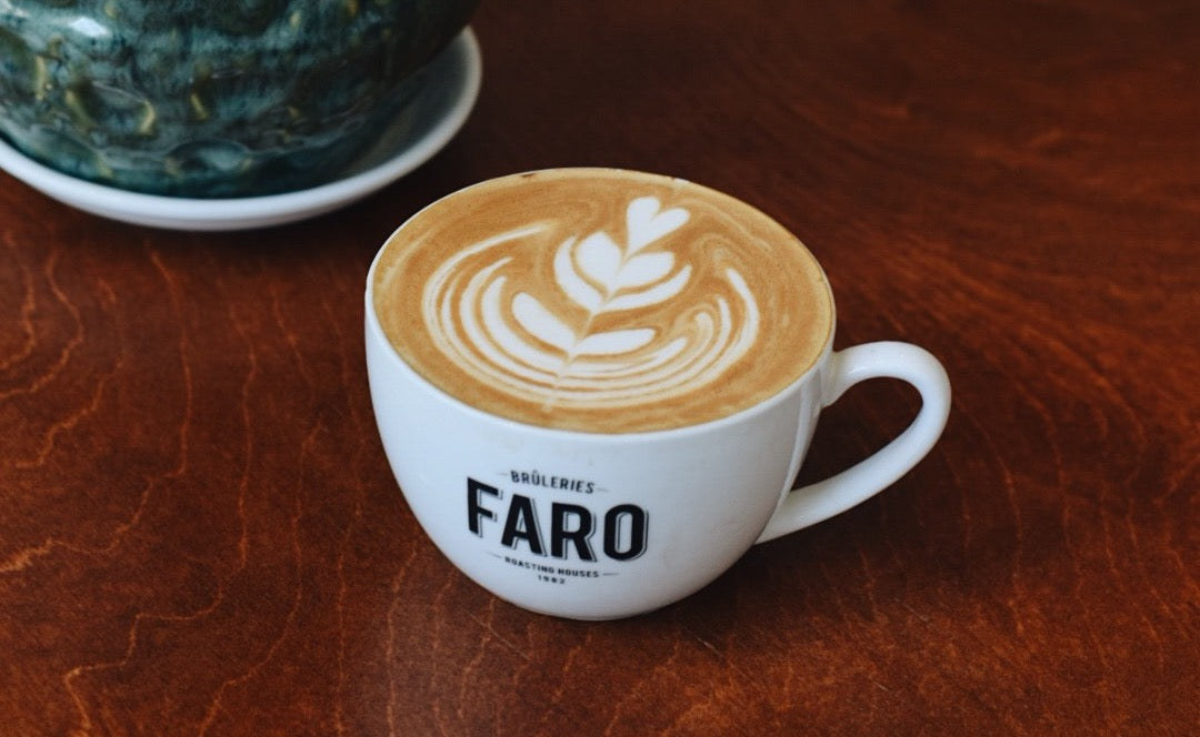 espresso decaf latte art bruleries faro