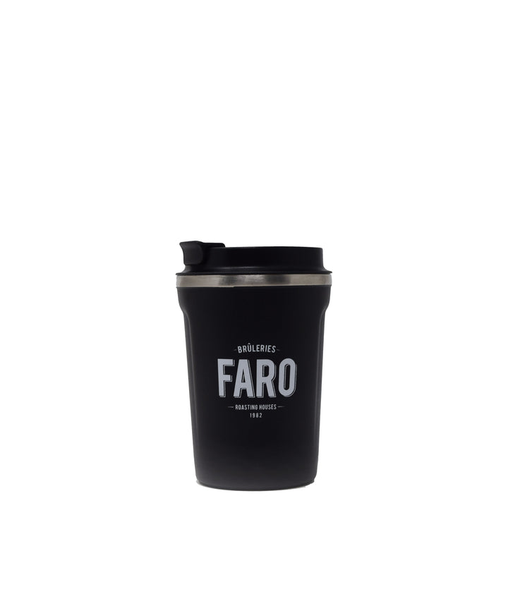 Faro coffee cup by Asobu (black) Accessories