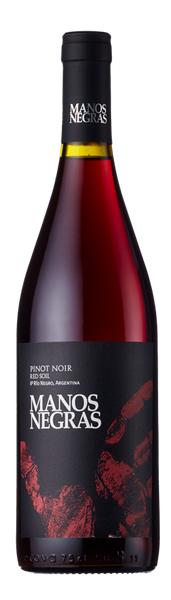 Manos Negras, Red Soil Select, Pinot Noir, Rio Negro, Patagonia 2017-Borders Wines