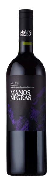 Manos Negras, Stone Soil Select Malbec, Paraje Altamira, Uco Valley, Argentina 2017-Borders Wines