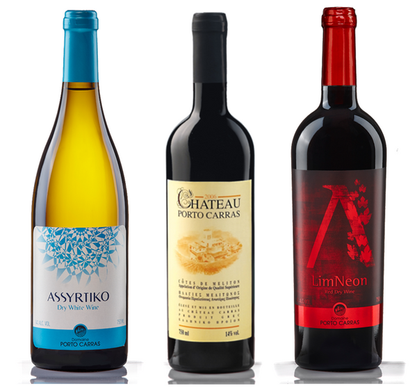 Discover - Porto Carras Wines of Greece (6 Bottle Mixed Case, red and white)