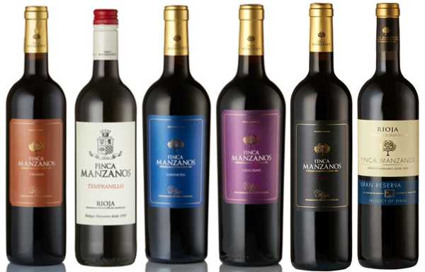 Discover - Red Rioja, with the wines of Bodegas Manzanos (6 Bottle Mixed Case)