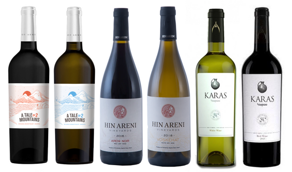 Discover - Armenia (6 Bottle Mixed Case, 3 red and 3 white)