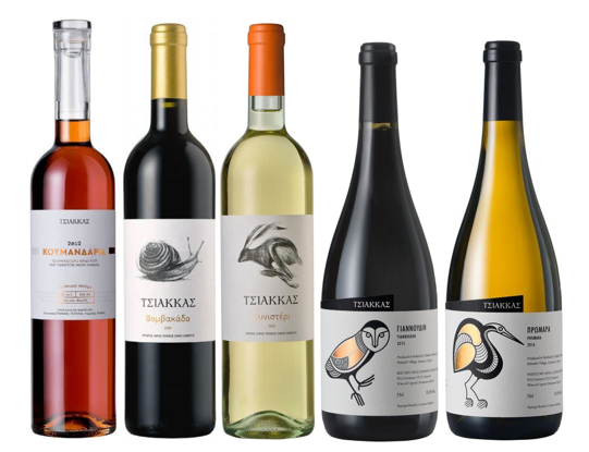 Discover - Wines of Cyprus (6 Bottle Mixed Case, 2 red, 3 white, 1 sweet) - Borders Wines