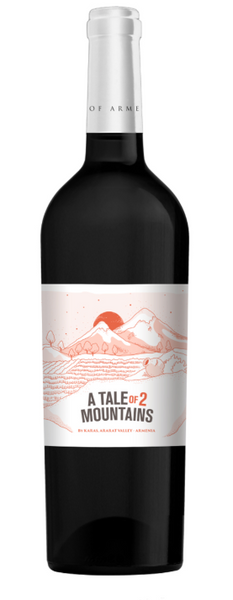 A Tale of Two Mountains, Red (Areni,Malbec), Ararat Valley, Armenia 2018 - Borders Wines