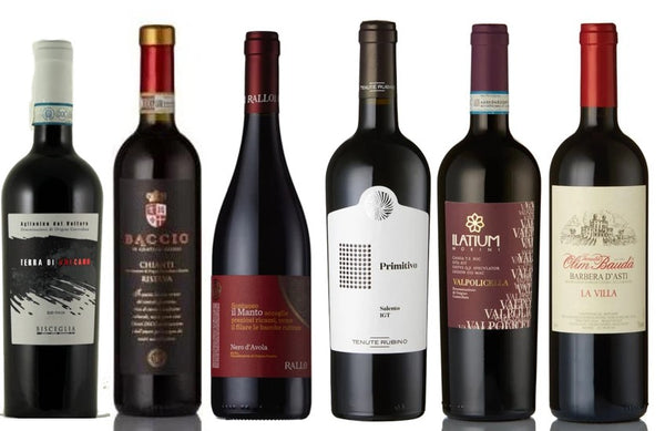 Discover - Italian Reds (6 Bottle Mixed Case)