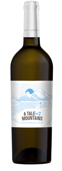 A Tale of Two Mountains, White (Kangun, Chenin Blanc), Ararat Valley, Armenia 2018 - Borders Wines