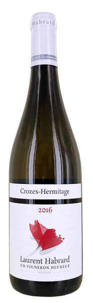 Laurent Habrard Crozes-Hermitage Blanc, Rhône, France 2016 - Borders Wines