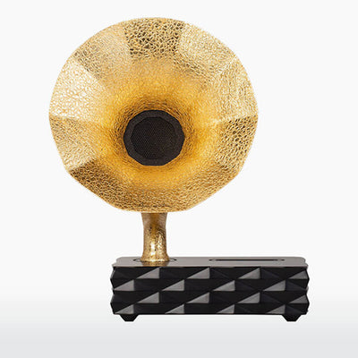 Acoustibox Acoustic Smartphone Amplifier – Solid Gold