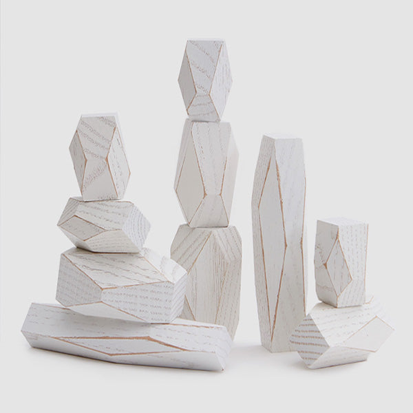 Areaware Balancing Blocks - White