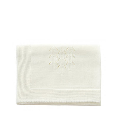 By Astrup Doll's Bed Blanket - Cream
