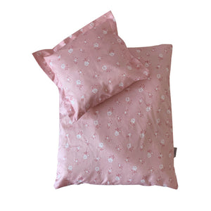 By Astrup Doll's Bed Set - Dusty Pink