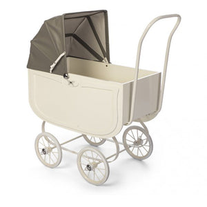 By Astrup Doll Pram - Vintage Cream