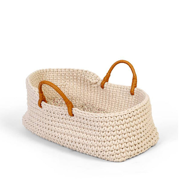 By Astrup Knitted Doll Basket
