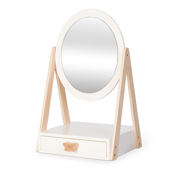 By Astrup Table Mirror with Drawer