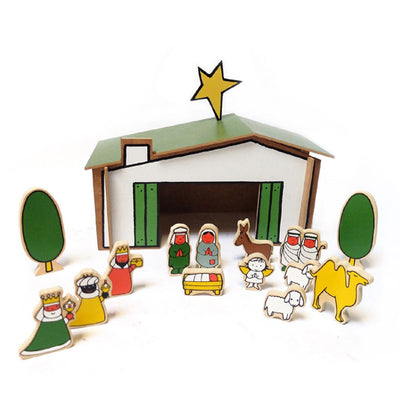 Miffy Wooden Nativity Scene Set by Dick Bruna