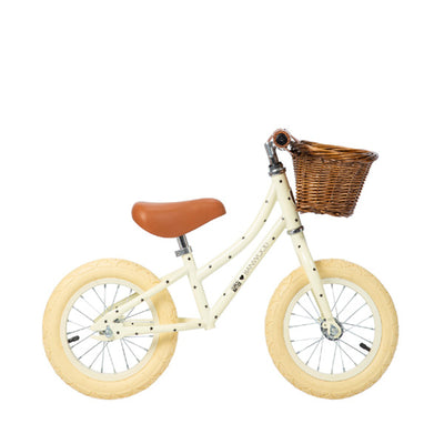 "Banwood x Bonton First Go 12"" Balance Bike – Cream"