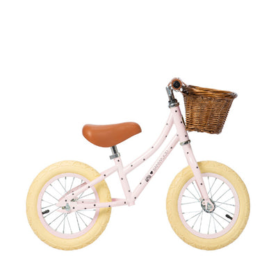 "Banwood x Bonton First Go 12"" Balance Bike – Pink"