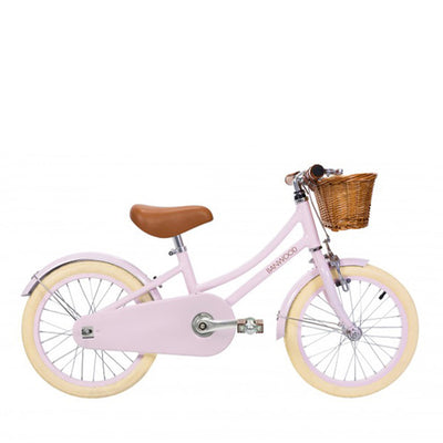 Banwood classic bike with pedals pink