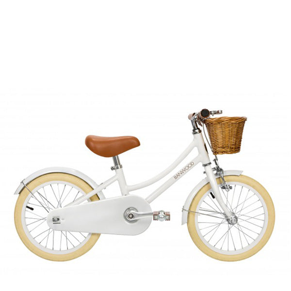 Banwood classic bike with pedals white