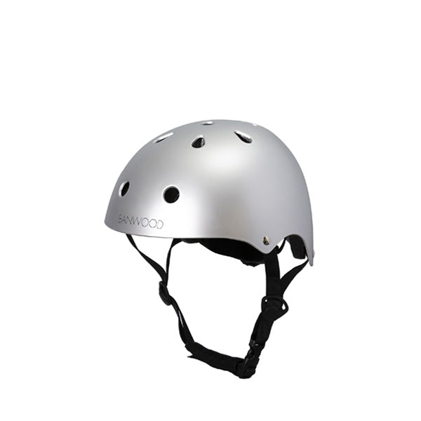 Banwood Classic Helmet – Chrome