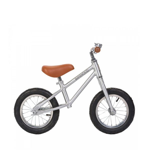 Banwood first go children's balance bike chrome