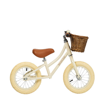 "Banwood First Go 12"" Balance Bike – Cream"