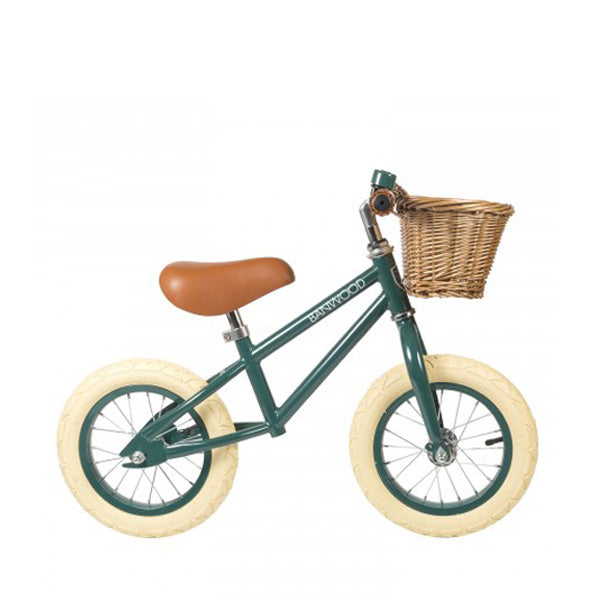 Banwood first go children's balance bike green